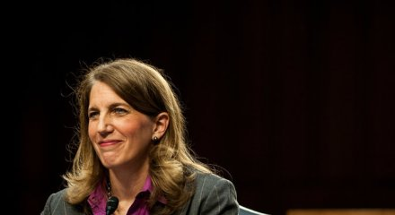 Sylvia Mathews Burwell testified before the Senate in May. Credit Gabriella Demczuk/The New York Times