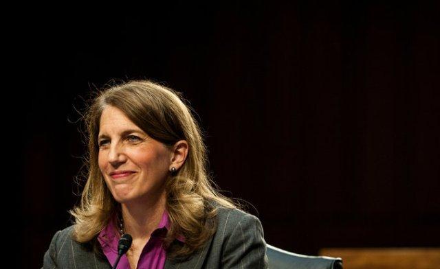 Sylvia Mathews Burwell testified before the Senate in May. Credit Gabriella Demczuk/The New York Times