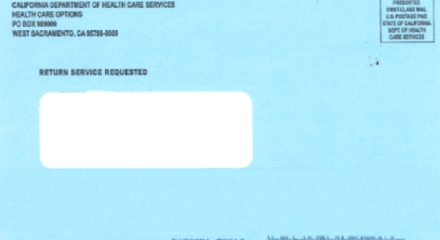 CMC Blue Envelope (Photo credit: St. Barnabas Senior Services