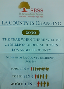 LA County Stats Poster