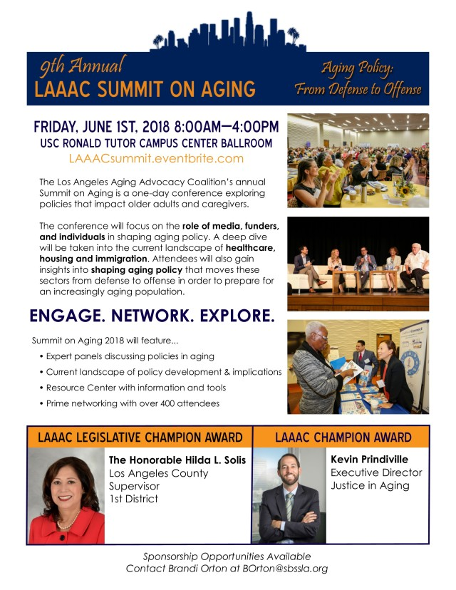 9th Summit on Aging FLYER